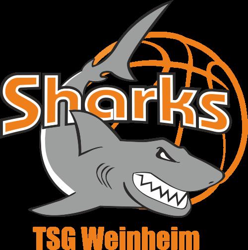 Logo der TSG Weinheim Sharks